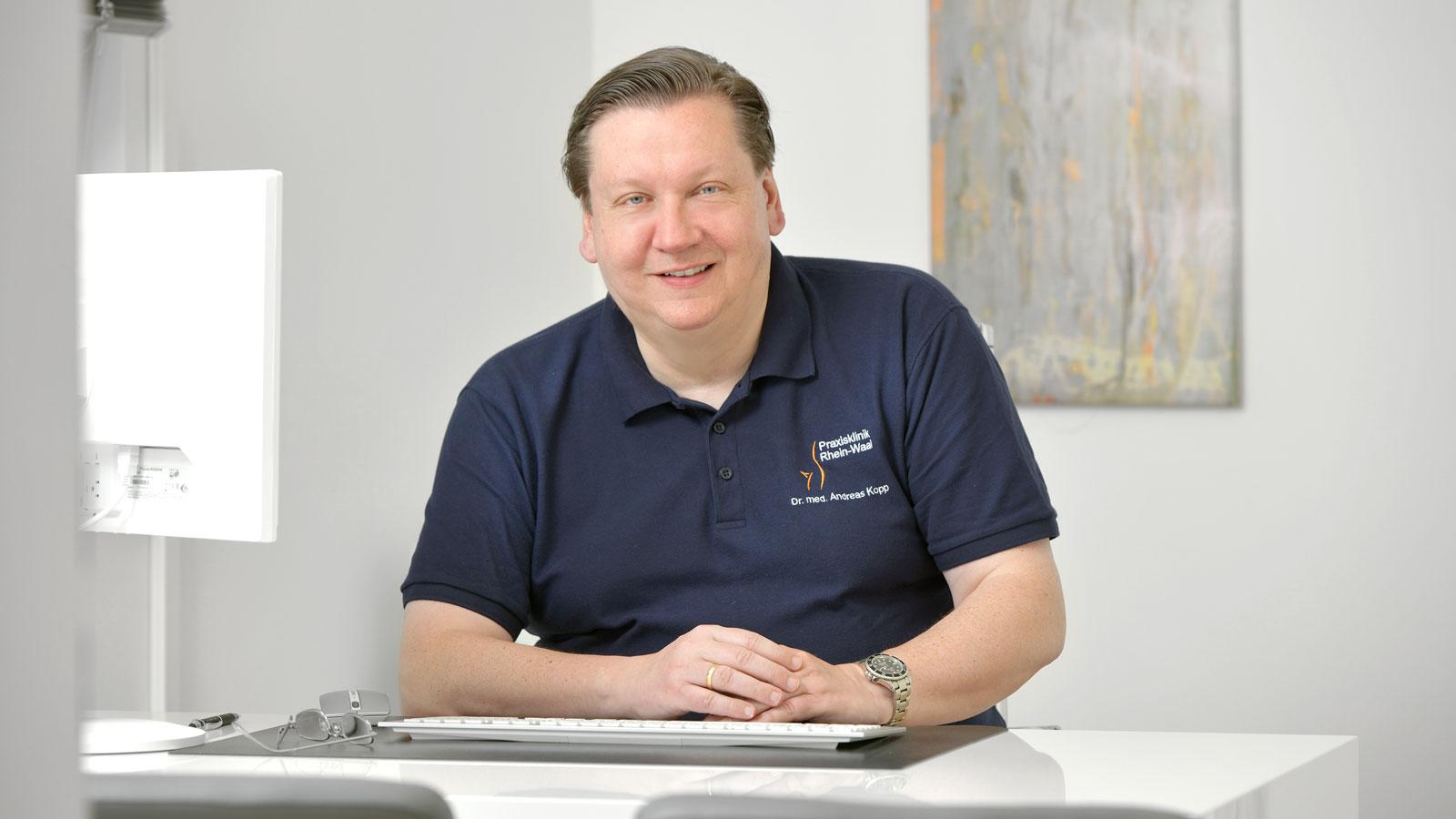 Dr. med. Andreas Kopp ist Vitalstoff-Experte